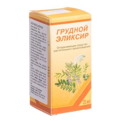 Krūtinės eliksyras, 25 ml