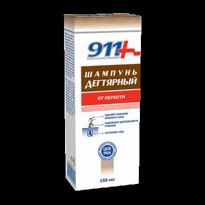 911 degutinis šampūnas nuo pleiskanų, 150 ml