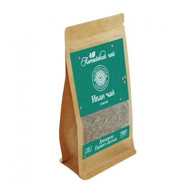 """Altajaus žolelių arbata """"Ivan-Čai"""" fermentuoti siauralapio gauromečio lapai su mėta, 50 g"""