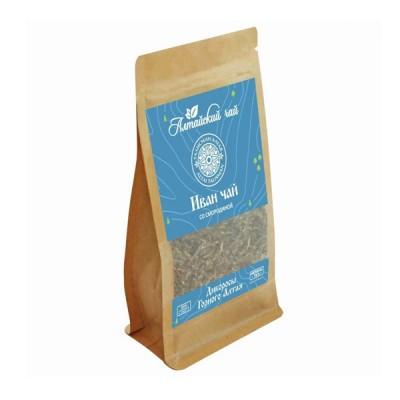 """Altajaus žolelių arbata """"Ivan-Čai"""" fermentuoti siauralapio gauromečio lapai su juoduoju serbentu, 50 g"""