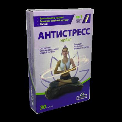 Herbal antistress, 30 kapsulių
