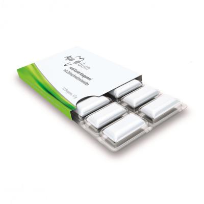 ApaGum kramtomoji guma su 100 %  ksitoliu ir dantų emalio mineralais, 17 g