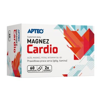 Apteo magnis ir vitaminas B6 cardio, 60 kapsulių