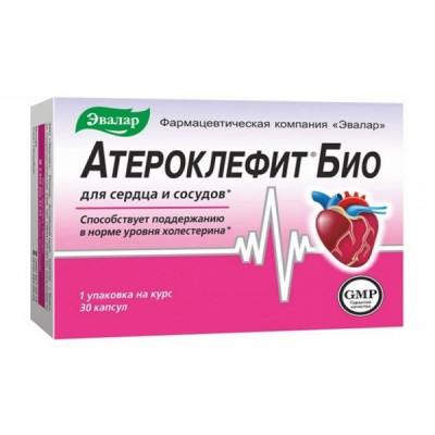 Evalar ateroklefit 250 mg, 30 tablečių