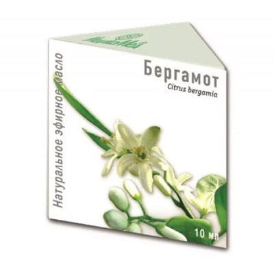 Bergamočių eterinis aliejus, 10 ml