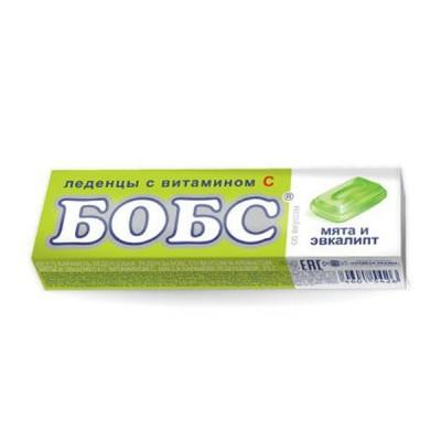 """Bobs ledinukai """"Mėta ir eukaliptas"""" su vitaminu C, 10 ledinukų"""