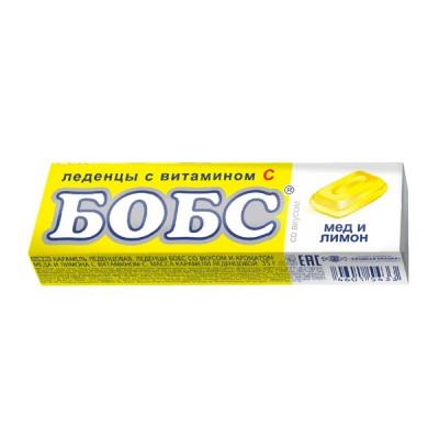 Bobs ledinukai medaus ir citrinų skonio su vitaminu C, 10 ledinukų