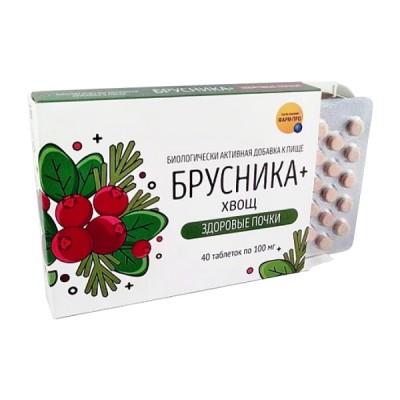 """""""Bruknė + asiūkliai, sveiki inkstai"""", 40 tablečių"""