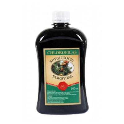 Chlorofilas spygliuočių eliksyras, 500 ml