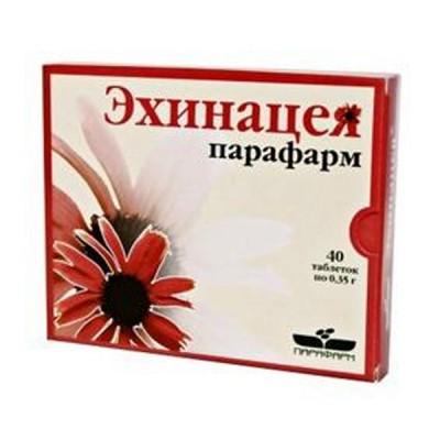 Echinaceja ekstraktas, 40 tablečių