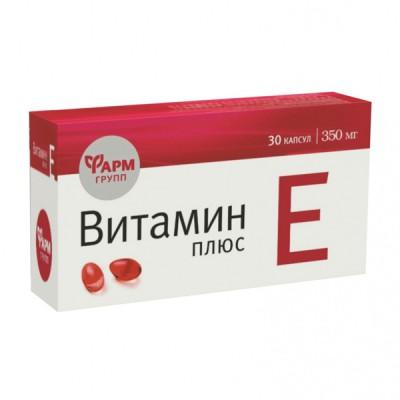 Vitaminas E plius, 30 kapsulių