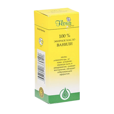 Floria vanilės eterinis aliejus, 10 ml