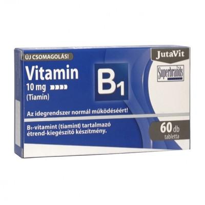 JutaVit vitaminas B1, 60 tablečių