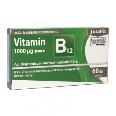JutaVit vitaminas B12 1000 mcg, 100 tablečių