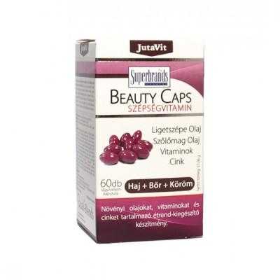 JutaVit beauty caps grožio kapsulė, 60 kapsulių