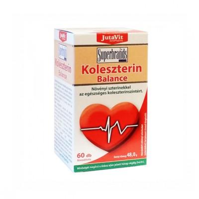 JutaVit cholesterolio balansas, 60 tablečių