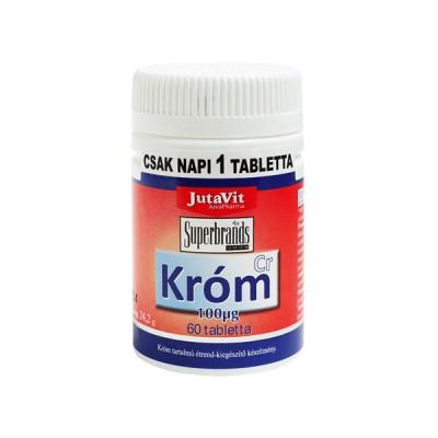 JutaVit chromas 100 mcg, 60 tablečių