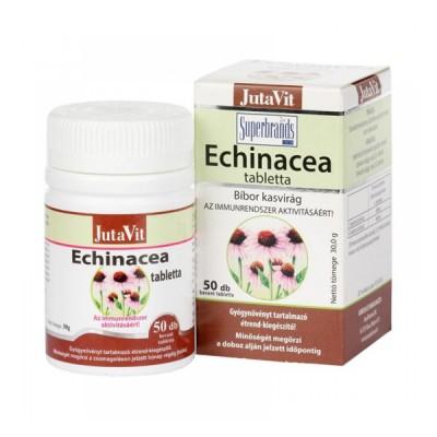 JutaVit ežiuolės ekstraktas 150 mg + vitaminas C, 50 tablečių