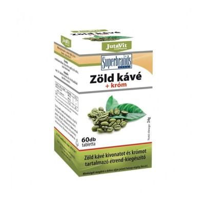 JutaVit green coffee žaliosios kavos ekstraktas, 60 tablečių