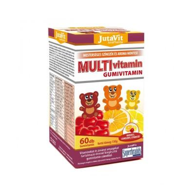 JutaVit multivitamin guminukai vaikams, 60 guminukų