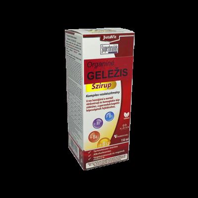 JutaVit organinės geležies sirupas + B grupes vitaminai, 150 ml