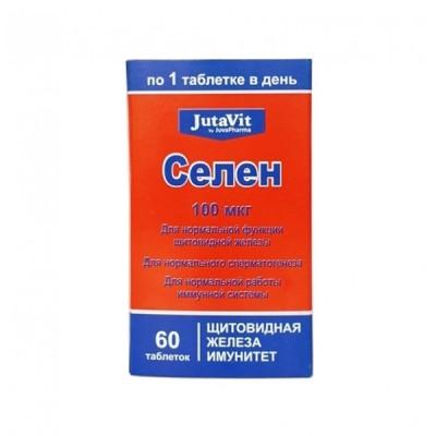 JutaVit selenas 100 mcg, 60 tablečių