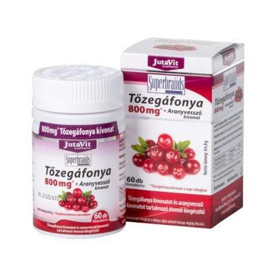 JutaVit spanguolės ekstraktas 800 mg + rykštenės ekstraktas, 100 tablečių