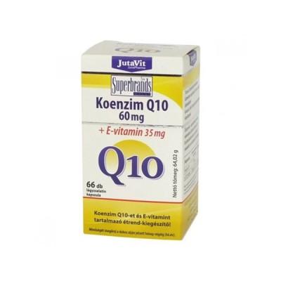 JutaVit koenzimas Q10 60 mg, 66 kapsulės