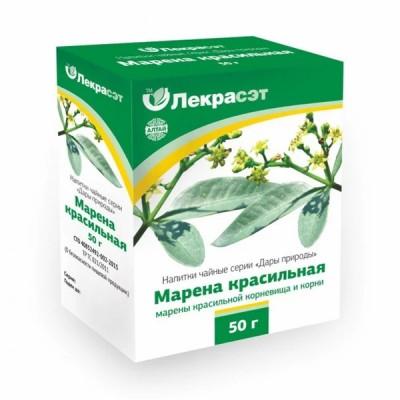 """Lekraset žolelių arbata """"Marena"""" dažinės raudės šaknys, 50 g"""