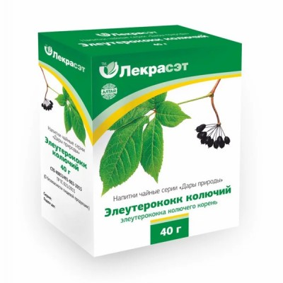 "Lekraset žolelių arbata ""Eleuterokokas"", 40 g"