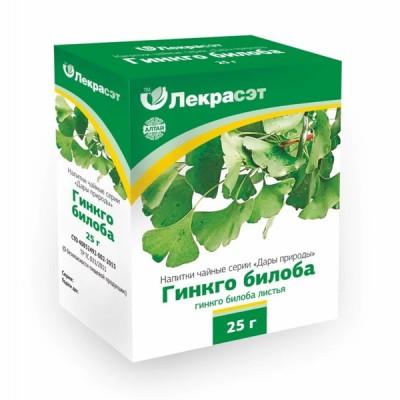 """Lekraset žolelių arbata """"Ginkmedžių lapai"""", 25 g"""