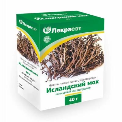 """Lekraset žolelių arbata """"Islandinė kerpena"""", 40 g"""