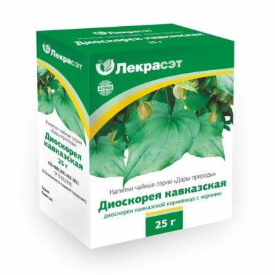 "Lekraset žolelių arbata ""Kaukazo diskoreja"", 25 g"