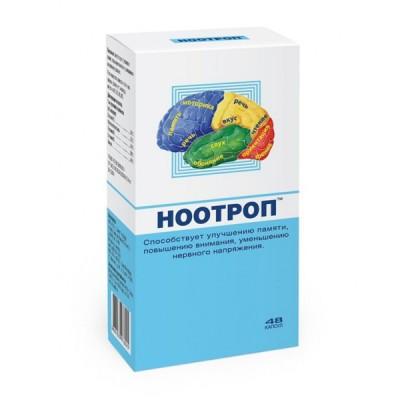Nootrop, 48 kapsulės