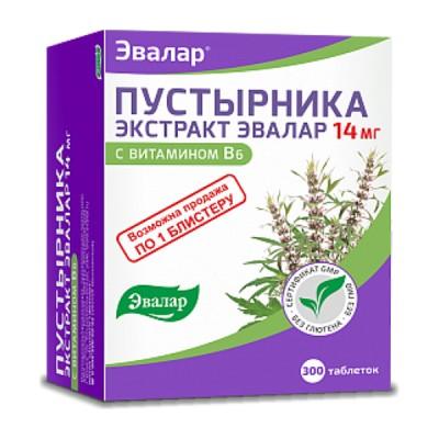 Evalar pustirnika ekstrakt, sukatžolės ekstraktas su vitaminu B6, 300 tablečių