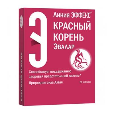 Evalar raudonoji šaknis, 60 tablečių