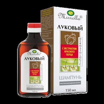 """Šampūnas plaukams """"Lukovyj"""" su raudonuoju pipiru, 150 ml"""