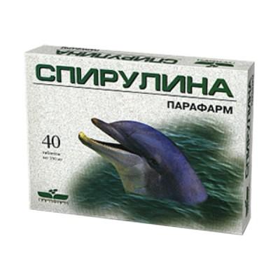 Spirulina, 40 tablečių
