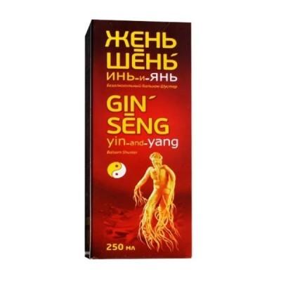 Šuster gin-seng yin-and-yang ženšenis, 250 ml