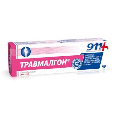 911 kosmetinis gelis kūnui travmalgon, 100 ml