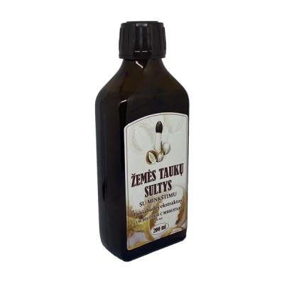 Žemės taukų sultys poniabudės ekstraktas, 200 ml